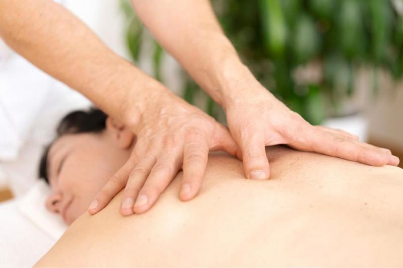 Rücken Wellness-Massage